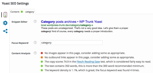 Yoast meta box on category and tag pages